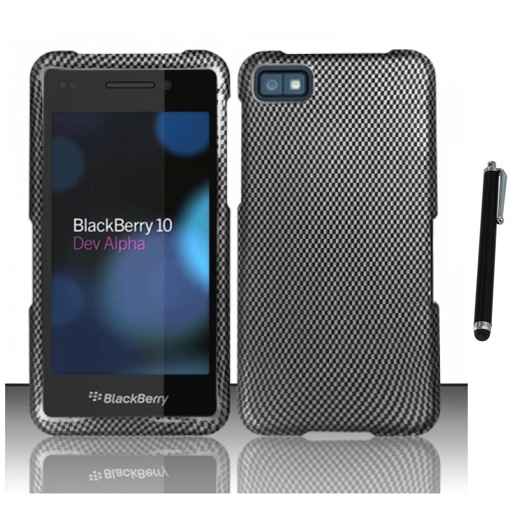 for blackberry z10 hard rubberized matte snap on case phone cover stylus pen. Black Bedroom Furniture Sets. Home Design Ideas