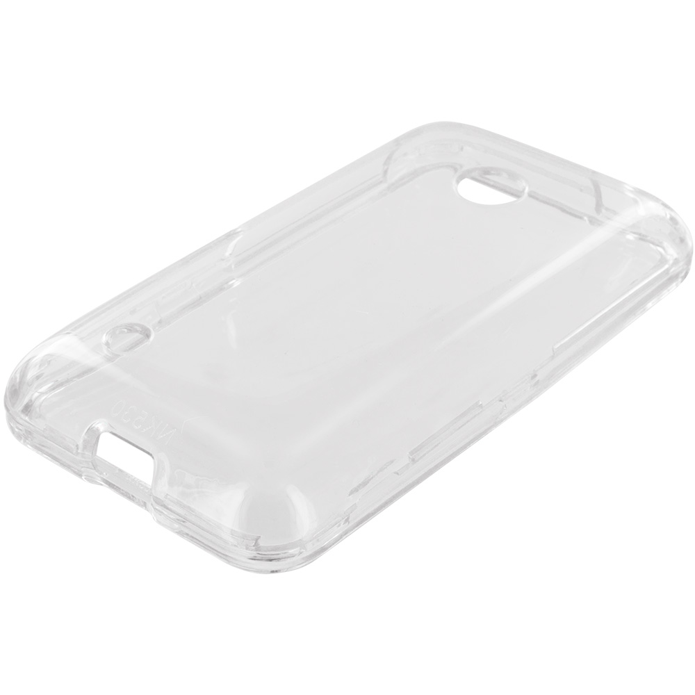 Nokia Lumia 530 Clear Crystal Transparent Hard Case Cover