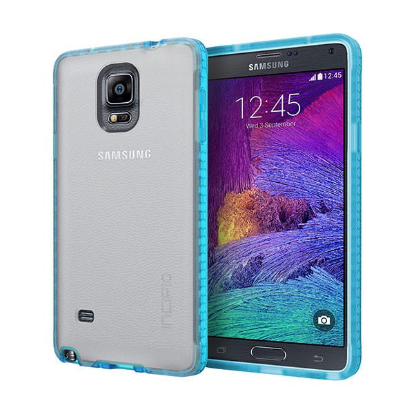 galaxy Note 4 - Frost / Neon Blue Incipio Octane Case Cover