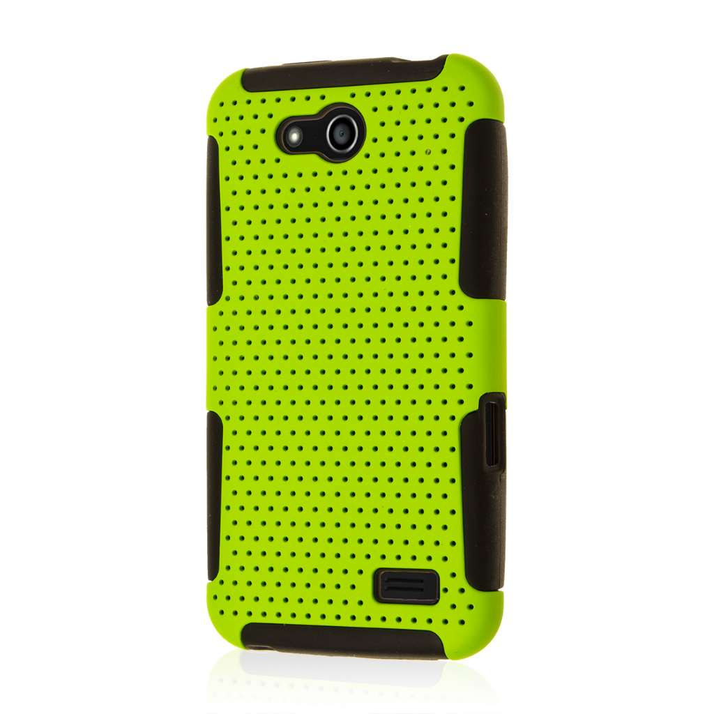 ZTE Speed - Neon Green MPERO FUSION M - Protective Case Cover