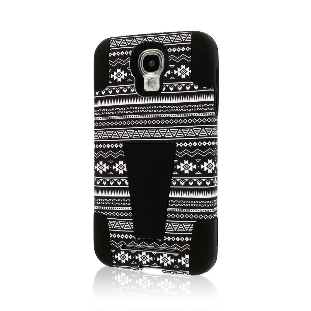 Samsung ATIV SE - Black Aztec MPERO IMPACT X - Kickstand Case Cover