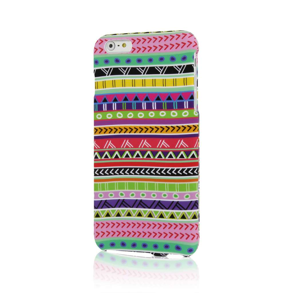 Apple iPhone 6 6S Plus - Aztec Fiesta Combo Pack : MPERO SNAPZ - Case Cover : Color Aztec Fiesta