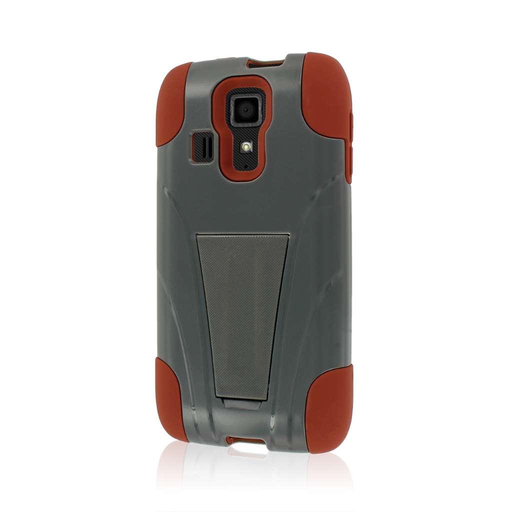 Kyocera Hydro Icon - Sandstone / Gray MPERO IMPACT X - Kickstand Case Cover