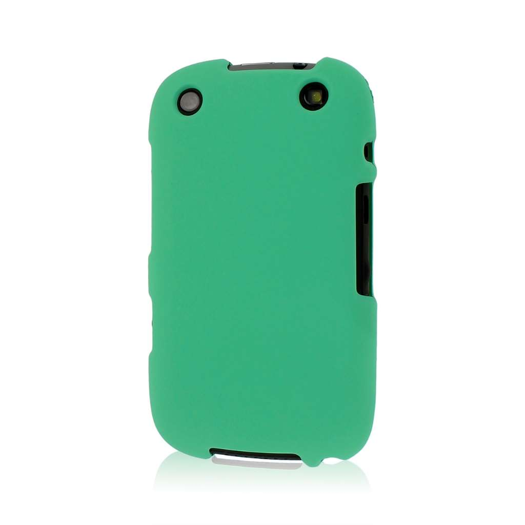 Blackberry Curve 9310/ 9315 - Mint Green MPERO SNAPZ - Rubberized Case Cover