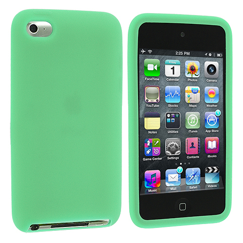 Color Silicone Rubber Gel Skin Case Cover for iPod Touch 4th Generation 4G 4