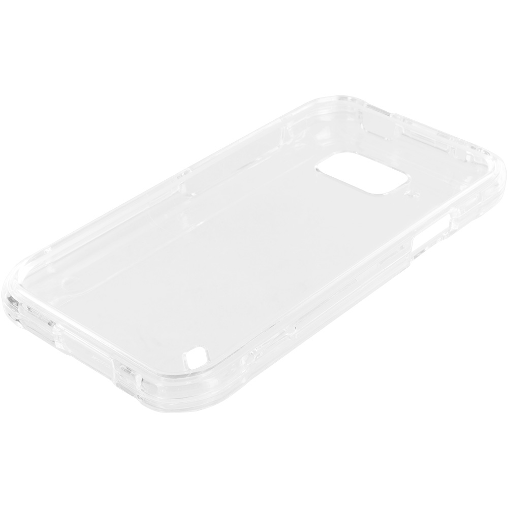 Samsung Galaxy S6 Active Clear Crystal Transparent Hard Case Cover