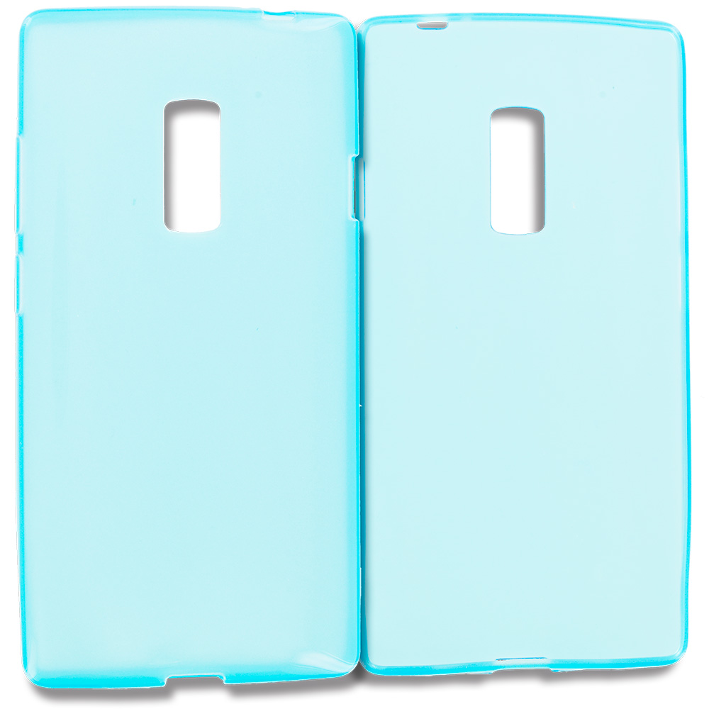 OnePlus 2 Two Baby Blue TPU Rubber Skin Case Cover