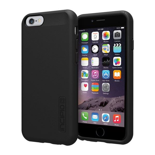 iPhone 6/6S - Black/Black Incipio DualPro Case Cover