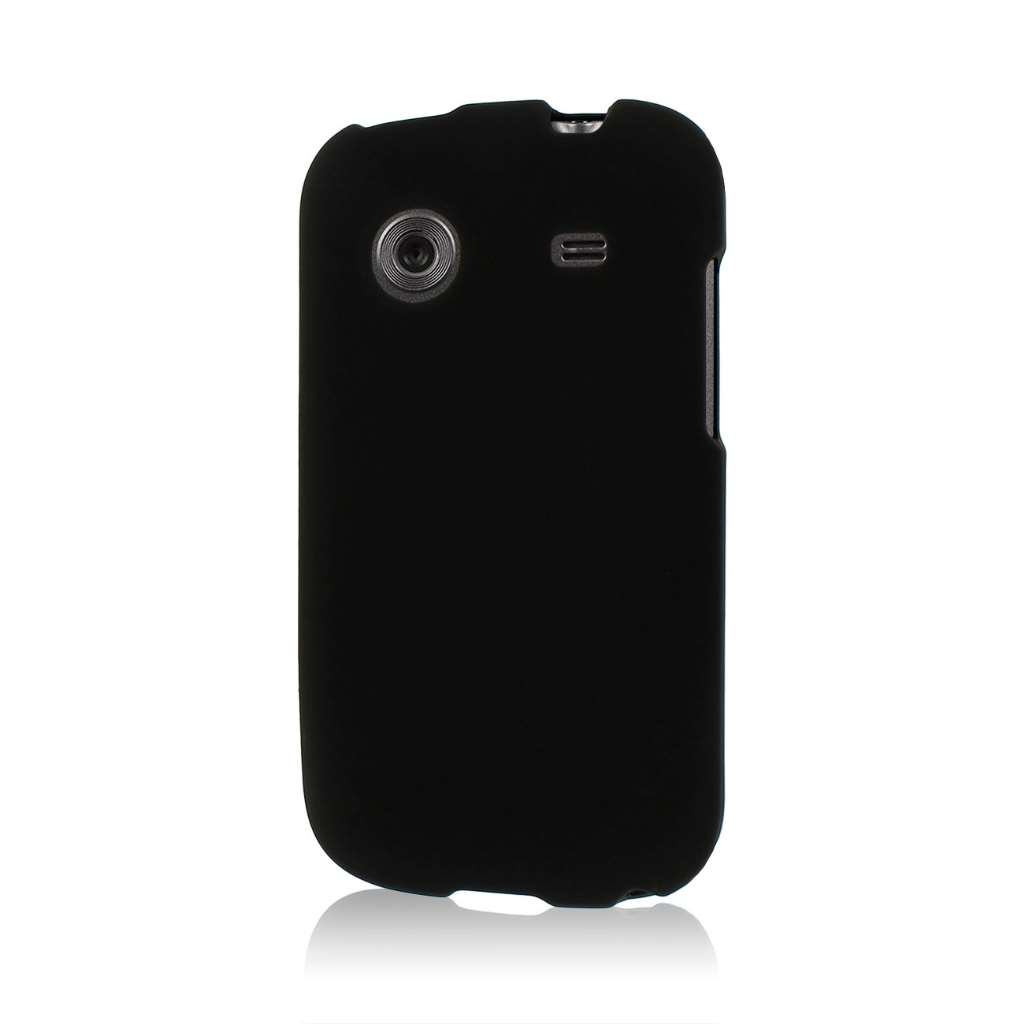 ZTE Whirl - Black MPERO SNAPZ - Glossy Case Cover