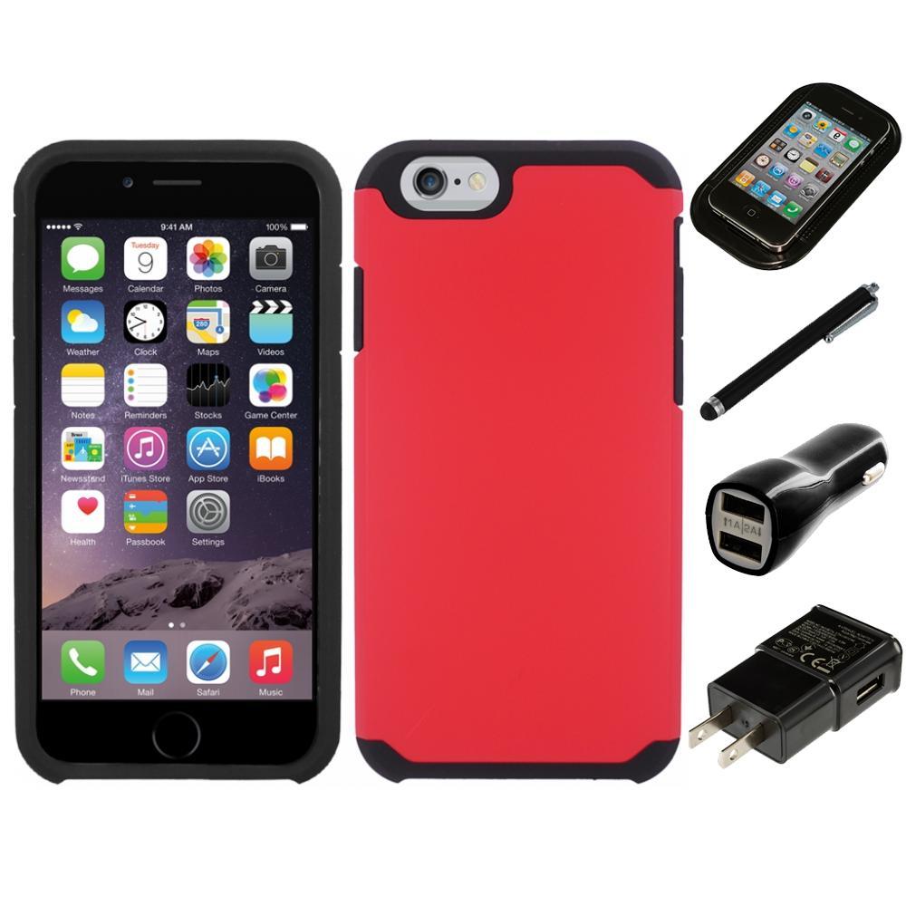 for apple iphone 5 5s se slim grip shockproof 2 piece hard case cover charger ebay. Black Bedroom Furniture Sets. Home Design Ideas