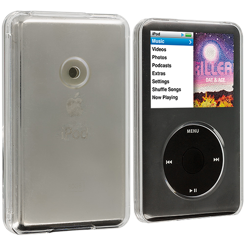 Apple iPod Classic Clear Crystal Transparent Hard Case Cover