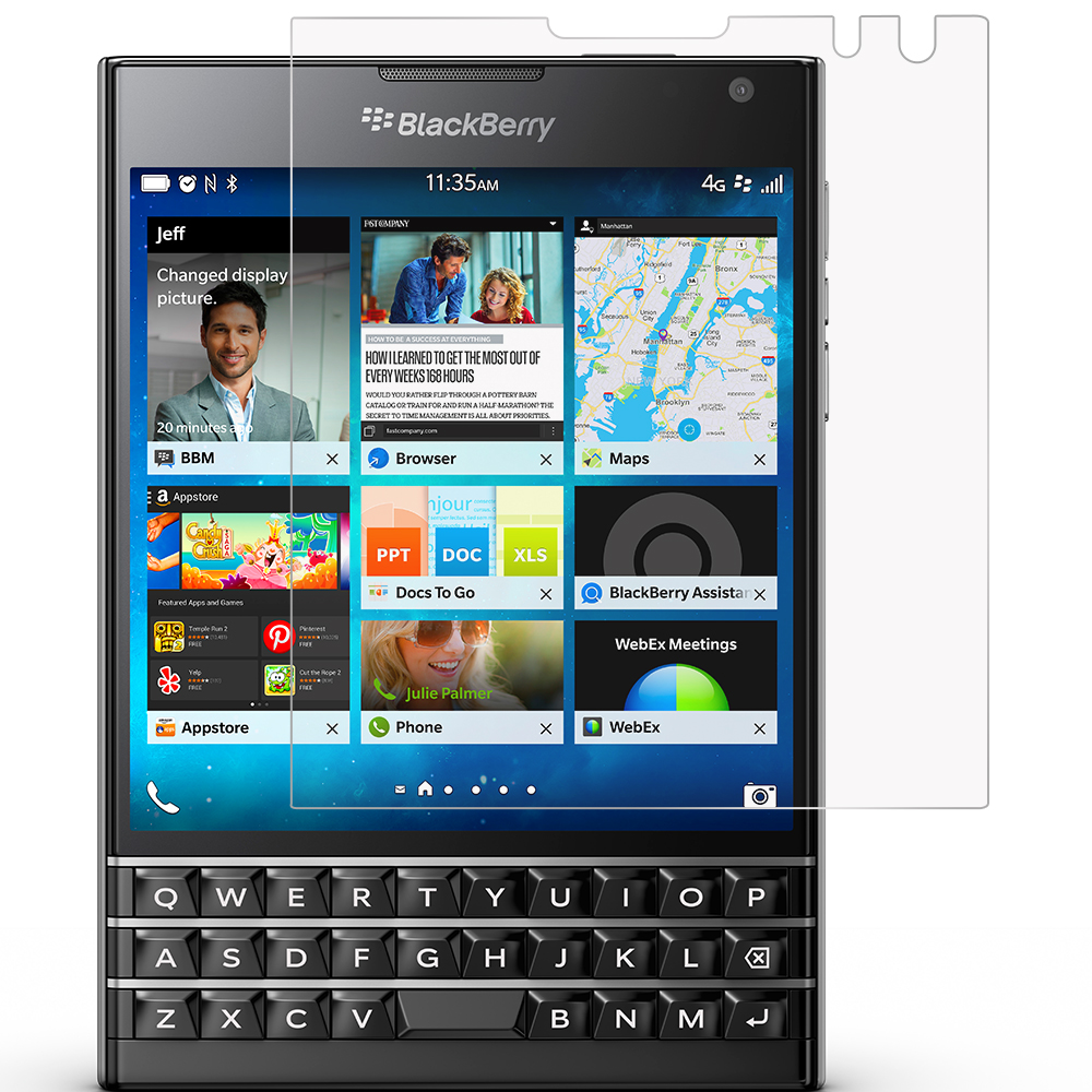 Blackberry Passport Anti Glare LCD Screen Protector