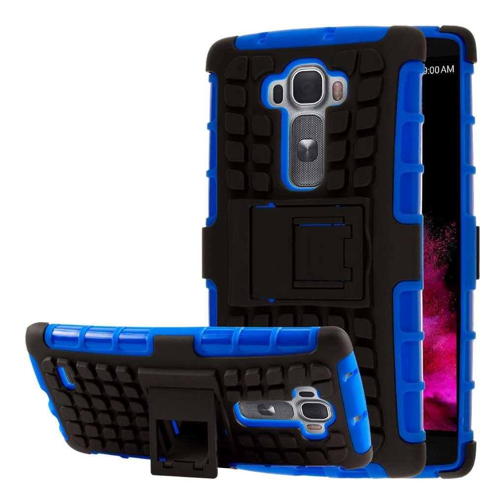 LG G Flex 2 - Blue MPERO IMPACT SR - Kickstand Case Cover