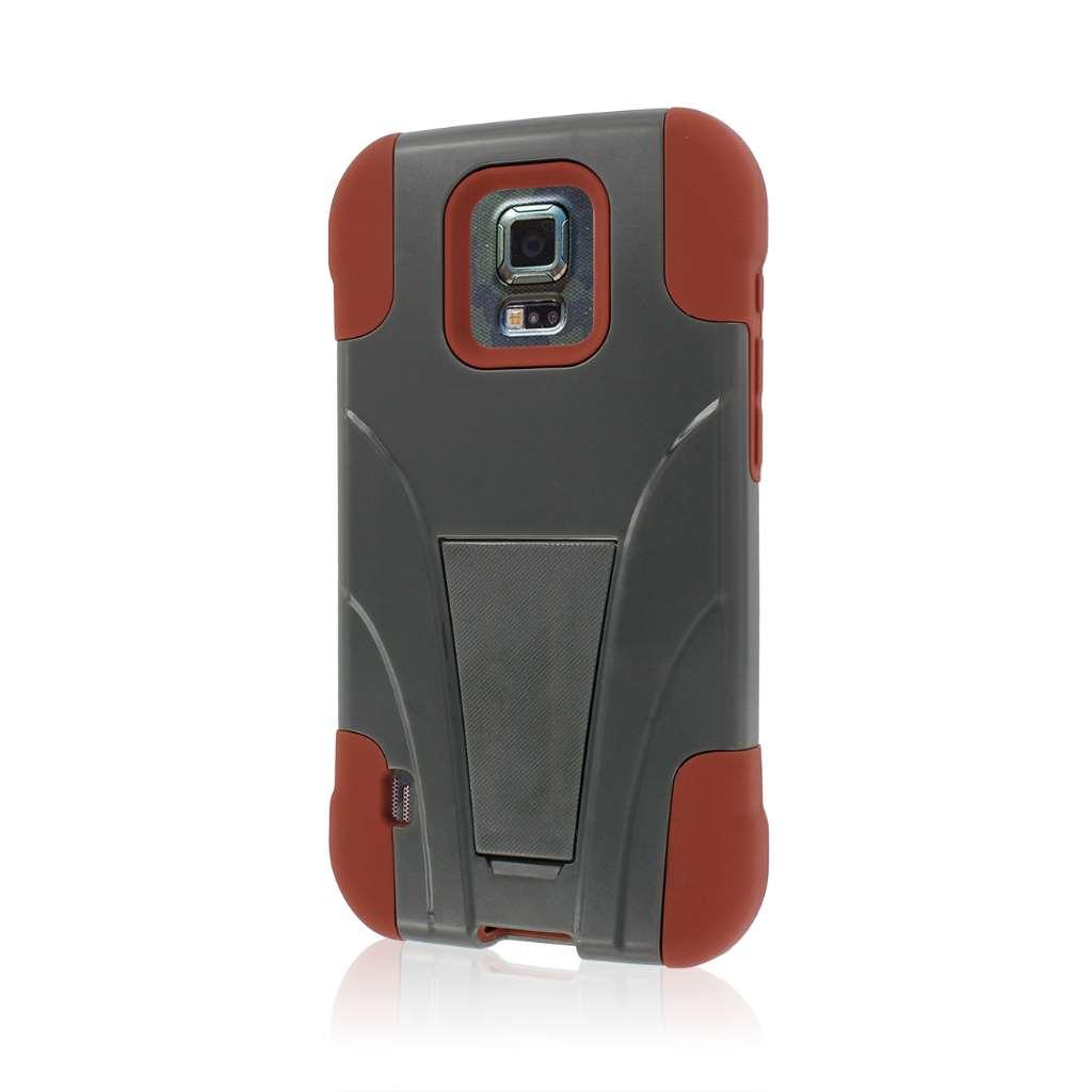 Samsung ATIV SE - Sandstone / Gray MPERO IMPACT X - Kickstand Case Cover