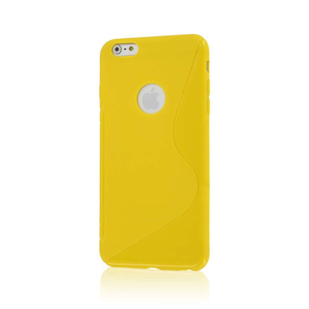 Apple iPhone 6 6S Plus - Mint Green Combo Pack : MPERO FLEX S - Protective Case Cover : Color Yellow