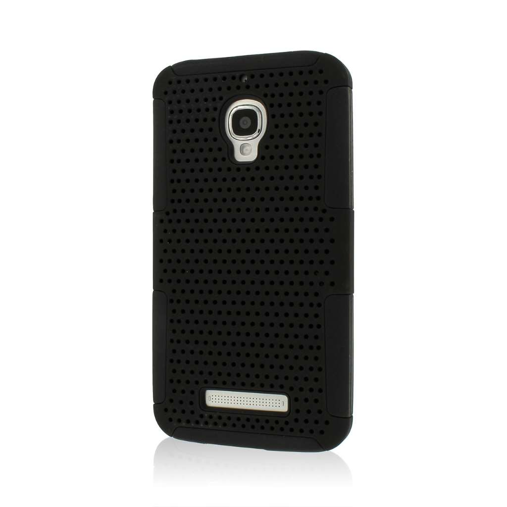 Alcatel OneTouch Fierce - Black MPERO FUSION M - Protective Case Cover