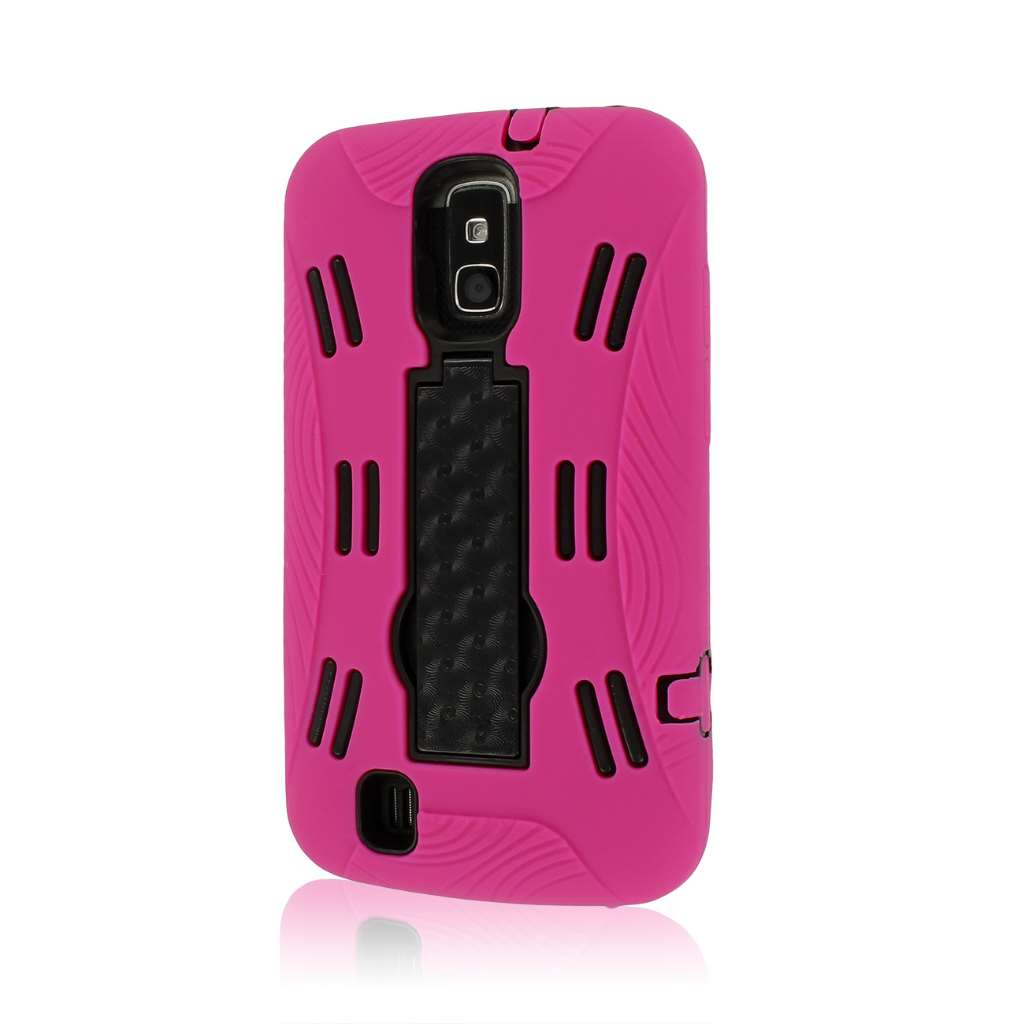 ZTE Force N9100 - Hot Pink MPERO IMPACT XL - Kickstand Case Cover