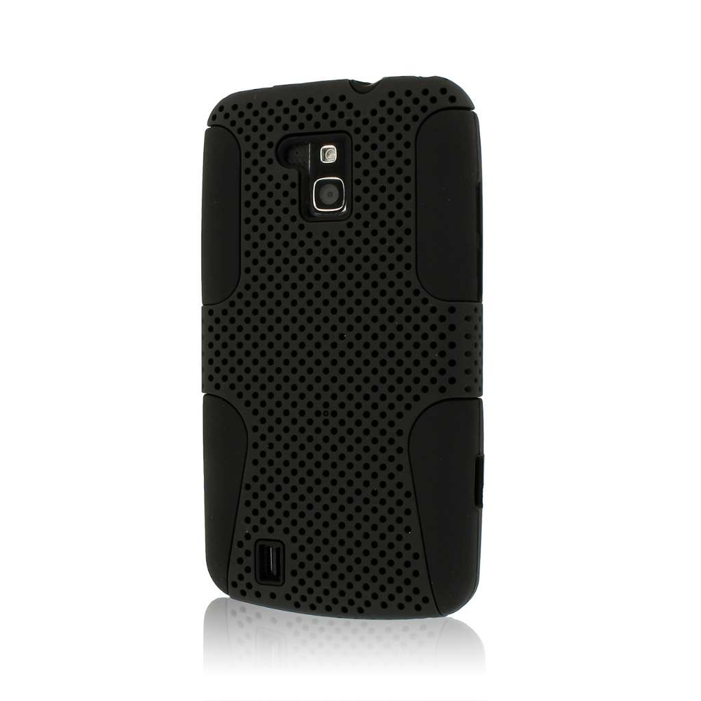 ZTE Force N9100- BLACK MPERO FUSION M - Protective Case Cover