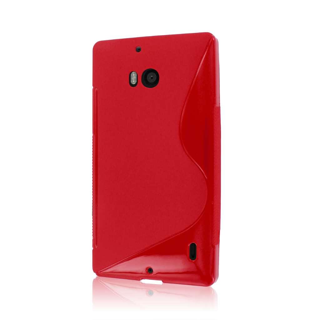Nokia Lumia Icon- RED MPERO FLEX S - Protective Case Cover