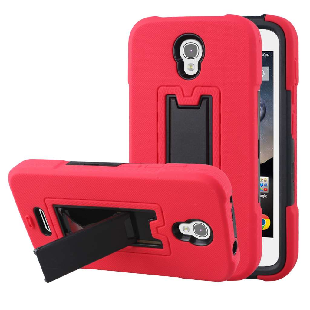 Alcatel OneTouch POP Astro - Red MPERO IMPACT XS - Kickstand Case Cover