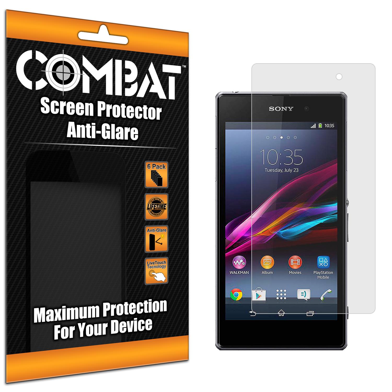 Sony Xperia Z2 Combat 6 Pack Anti-Glare Matte Screen Protector