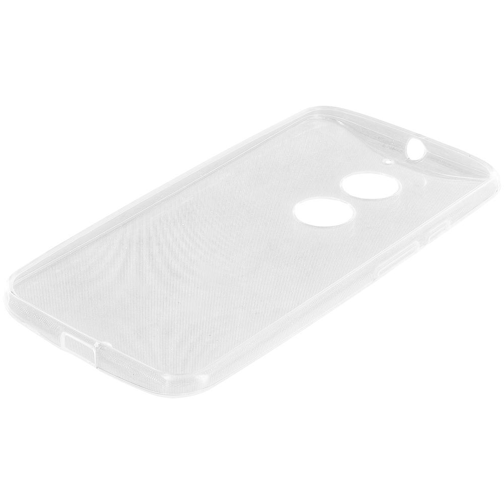 Motorola Moto X 2nd Gen Clear TPU Rubber Skin Case Cover