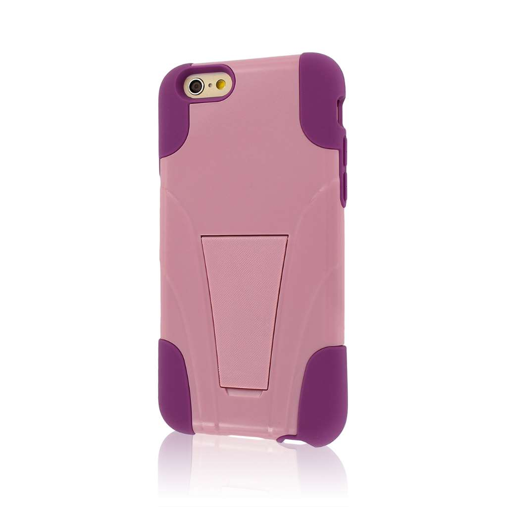 Apple iPhone 6/6S - Pink MPERO IMPACT X - Kickstand Case Cover