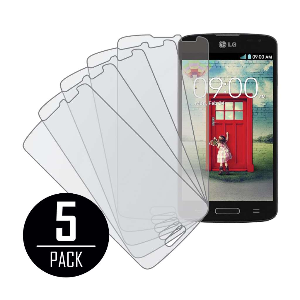 LG Volt MPERO 5 Pack of Matte Screen Protectors
