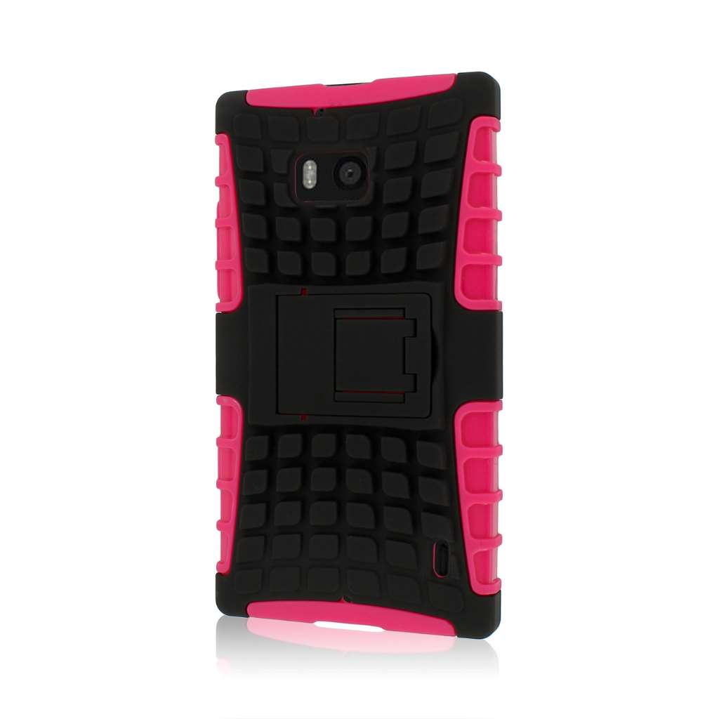 Nokia Lumia Icon - hot pink MPERO IMPACT SR - Kickstand Case Cover
