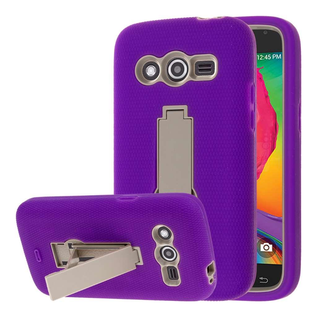 Samsung Galaxy Avant - Purple MPERO IMPACT XS - Kickstand Case Cover