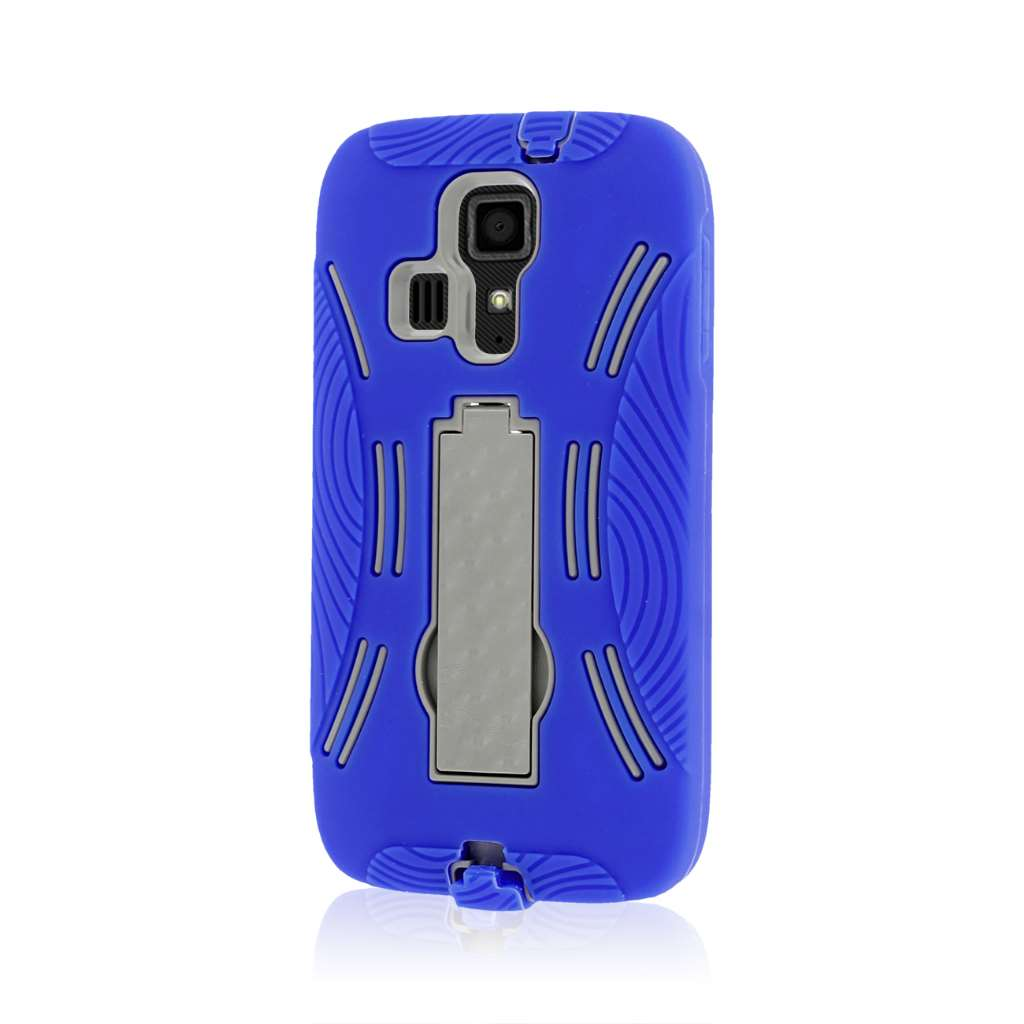 Kyocera Hydro Icon - Blue MPERO IMPACT XL - Kickstand Case Cover