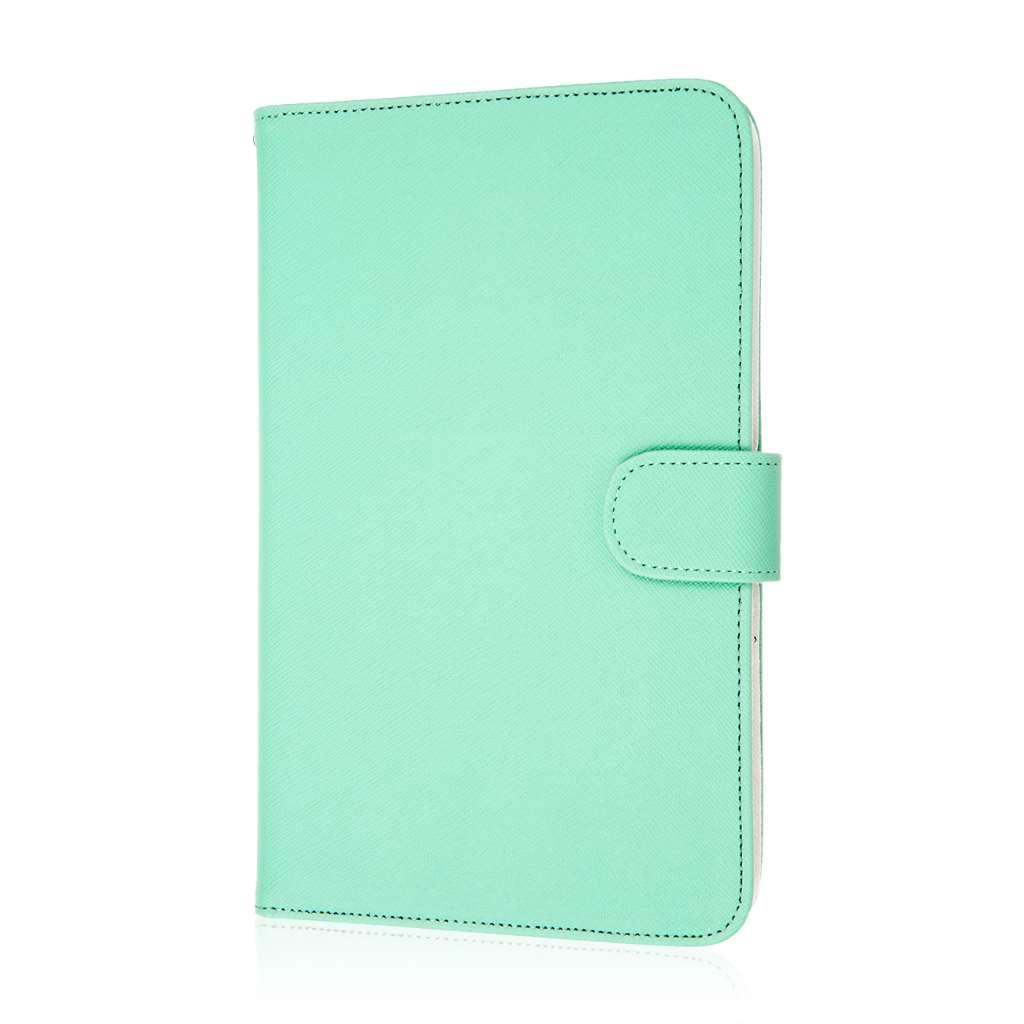 Alcatel OneTouch Pop 7 - Mint MPERO FLEX FLIP Wallet Case Cover