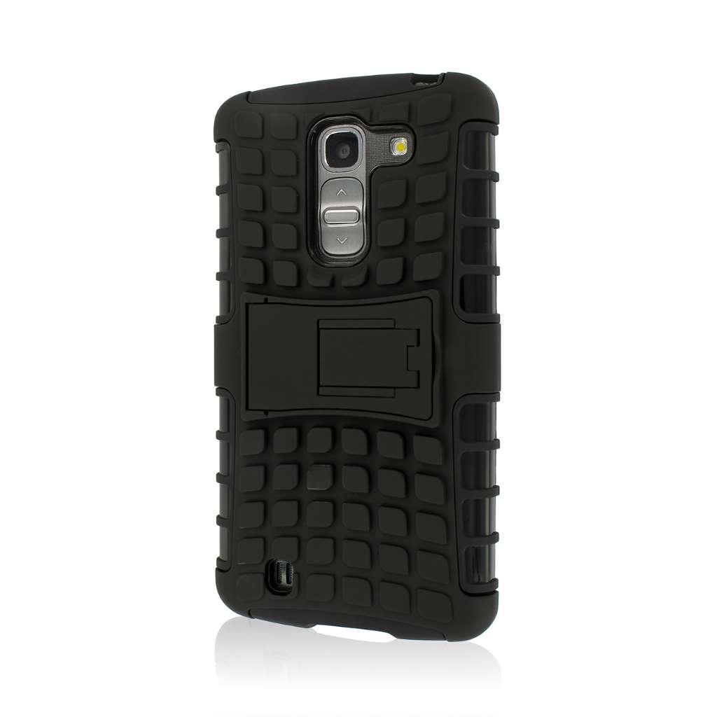 LG G Pro 2 - Black MPERO IMPACT SR - Kickstand Case Cover