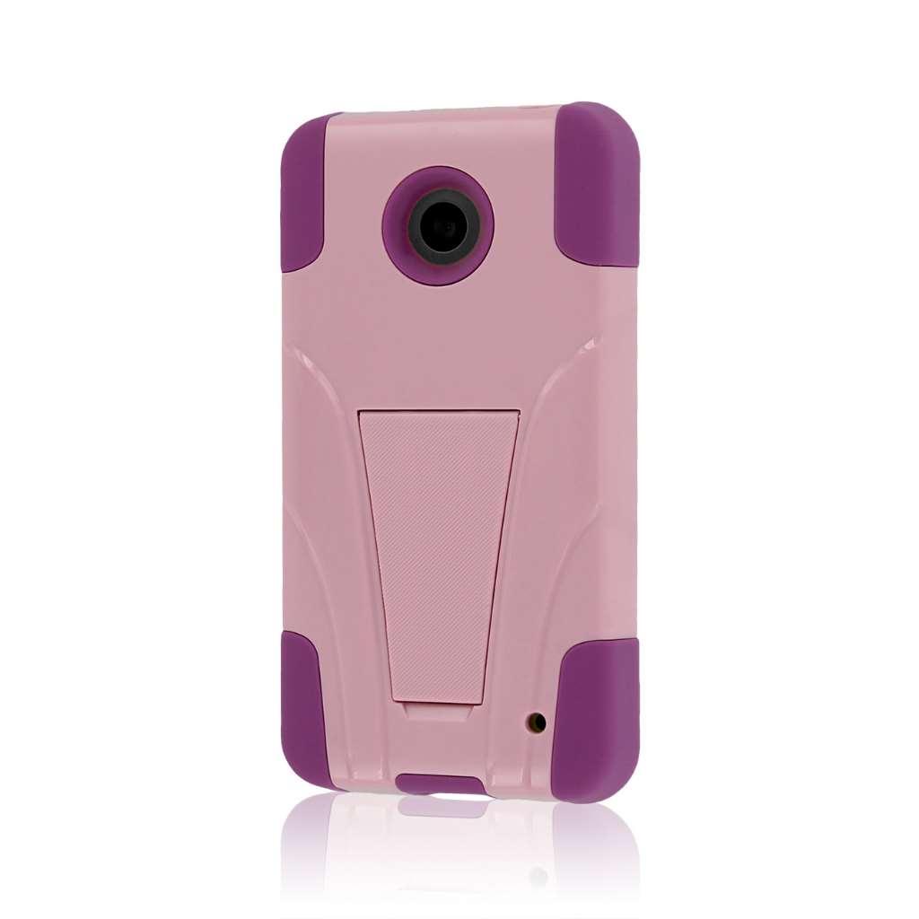 Nokia Lumia 635 - Pink MPERO IMPACT X - Kickstand Case Cover