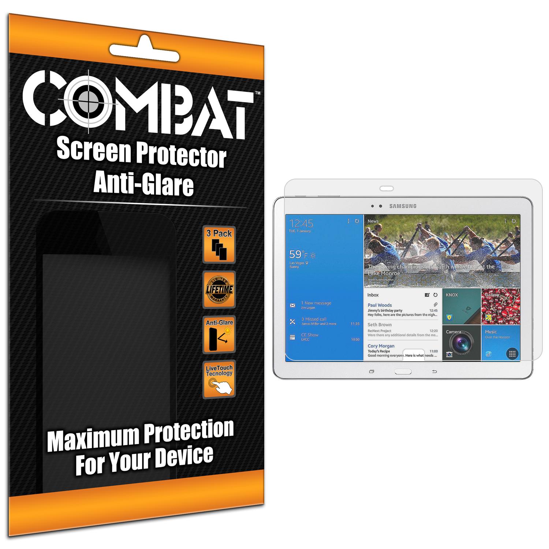 Samsung Galaxy Tab PRO 12.2 Combat 3 Pack Anti-Glare Matte Screen Protector