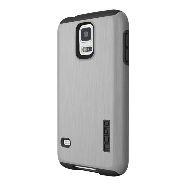 Samsung Galaxy S5 - Silver/Black Incipio DualPro Shine Case Cover