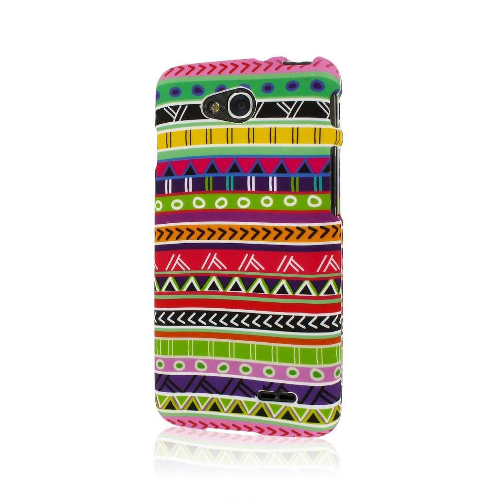 LG Optimus L90 - Aztec Fiesta MPERO SNAPZ - Case Cover