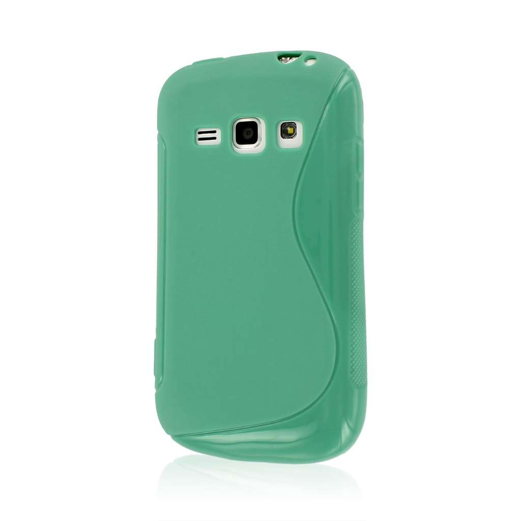 Samsung Galaxy Prevail 2 - Mint Green MPERO FLEX S - Protective Case Cover