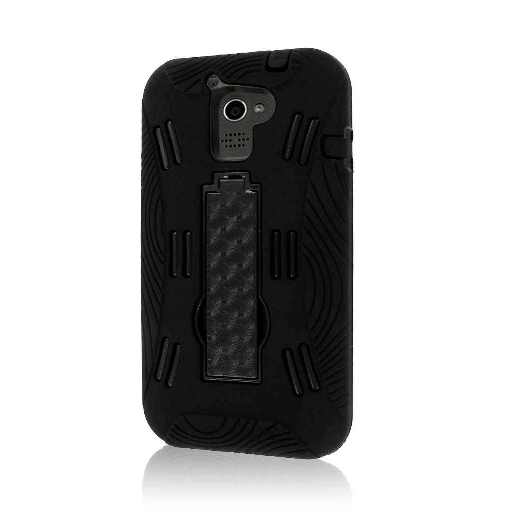 Huawei Premia 4G M931 - Black MPERO IMPACT XL - Kickstand Case Cover
