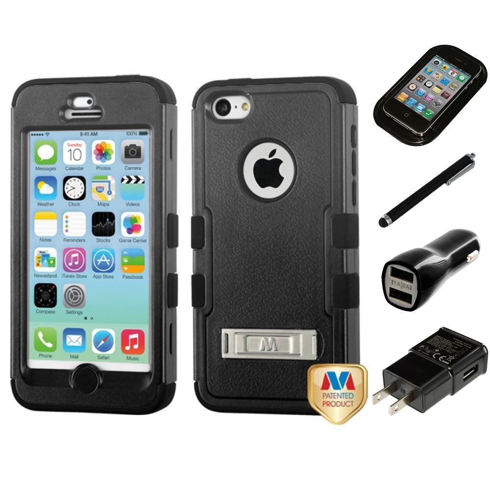 for apple iphone 5c hybrid tuff impact phone case hard. Black Bedroom Furniture Sets. Home Design Ideas