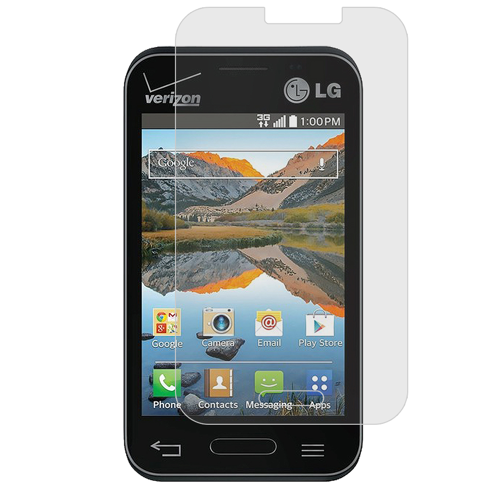 LG Optimus Zone 2 / Fuel L34C Anti Glare LCD Screen Protector