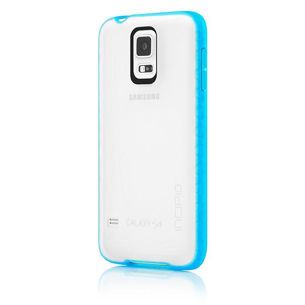 Samsung Galaxy S5 - Frost/Cyan Incipio Octane Case Cover