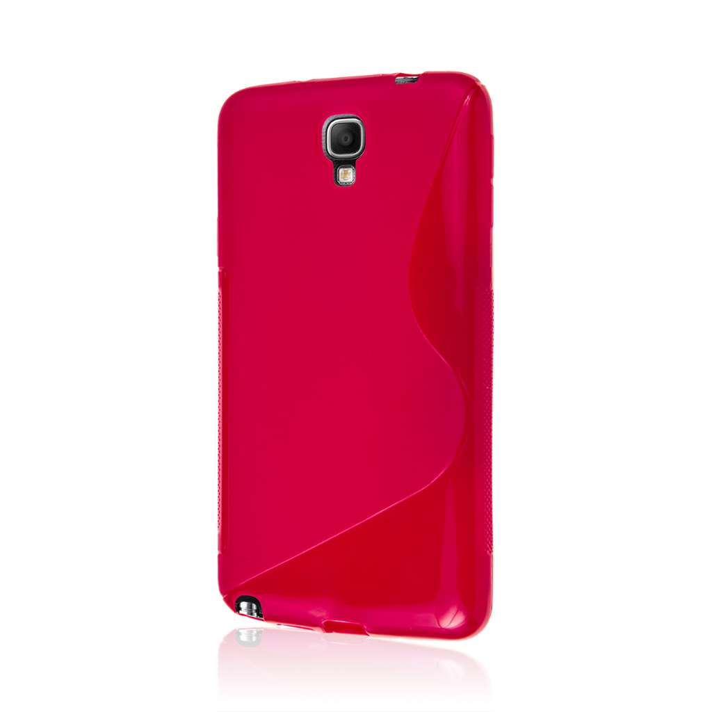 Samsung Galaxy Note 3 Neo - Hot Pink MPERO FLEX S - Protective Case Cover