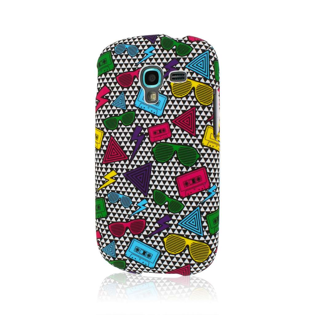Samsung Galaxy Exhibit - Neon 90's MPERO SNAPZ - Case Cover