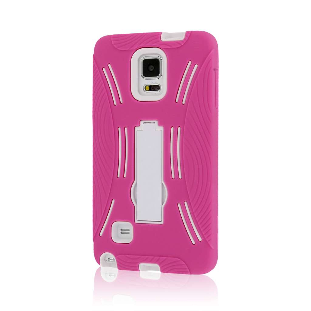 Samsung Galaxy Note 4 - Hot Pink MPERO IMPACT XL - Kickstand Case Cover