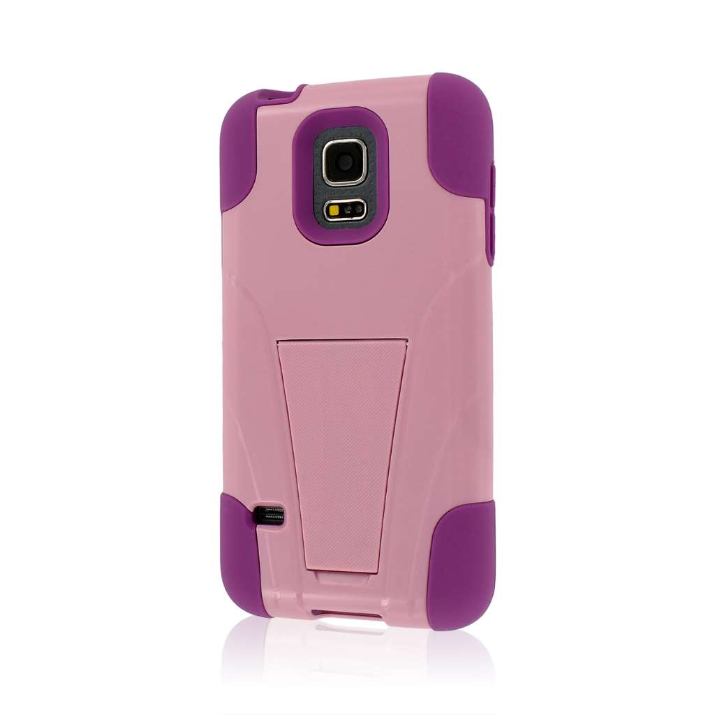 Samsung Galaxy S5 Mini - Pink MPERO IMPACT X - Kickstand Case Cover