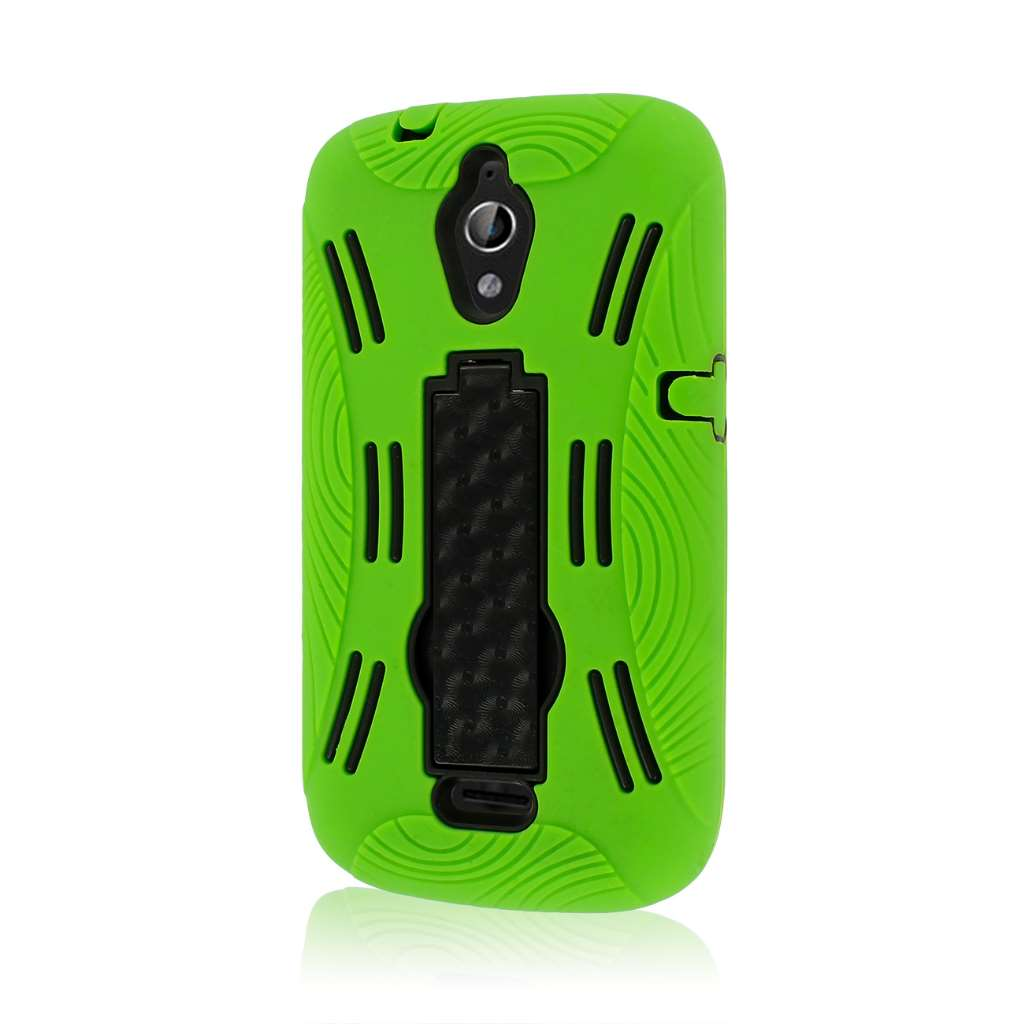 Huawei Vitria - Neon Green MPERO IMPACT XL - Kickstand Case Cover