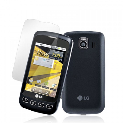 LG Optimus S LS670 / U / V Clear LCD Screen Protector