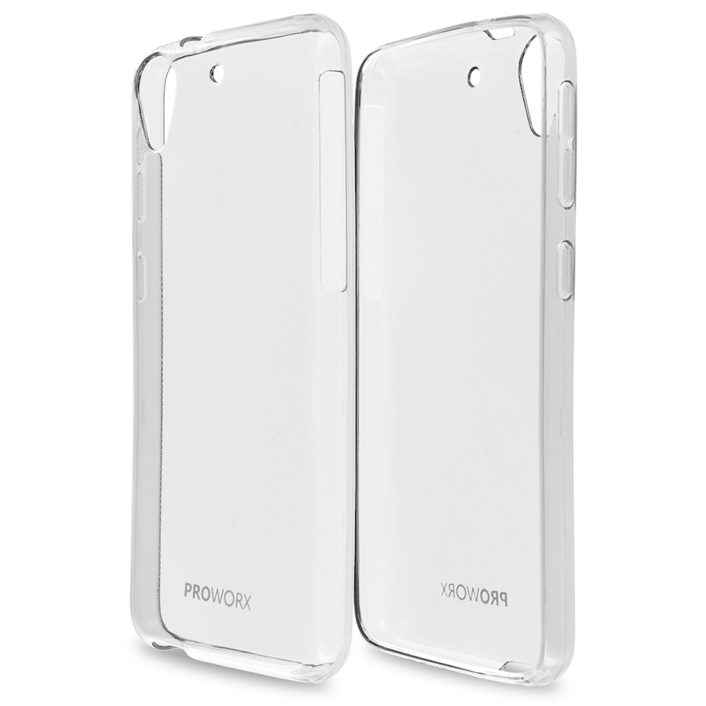 HTC Desire 626 / 626s Clear ProWorx Ultra Slim Thin Scratch Resistant TPU Silicone Case Cover