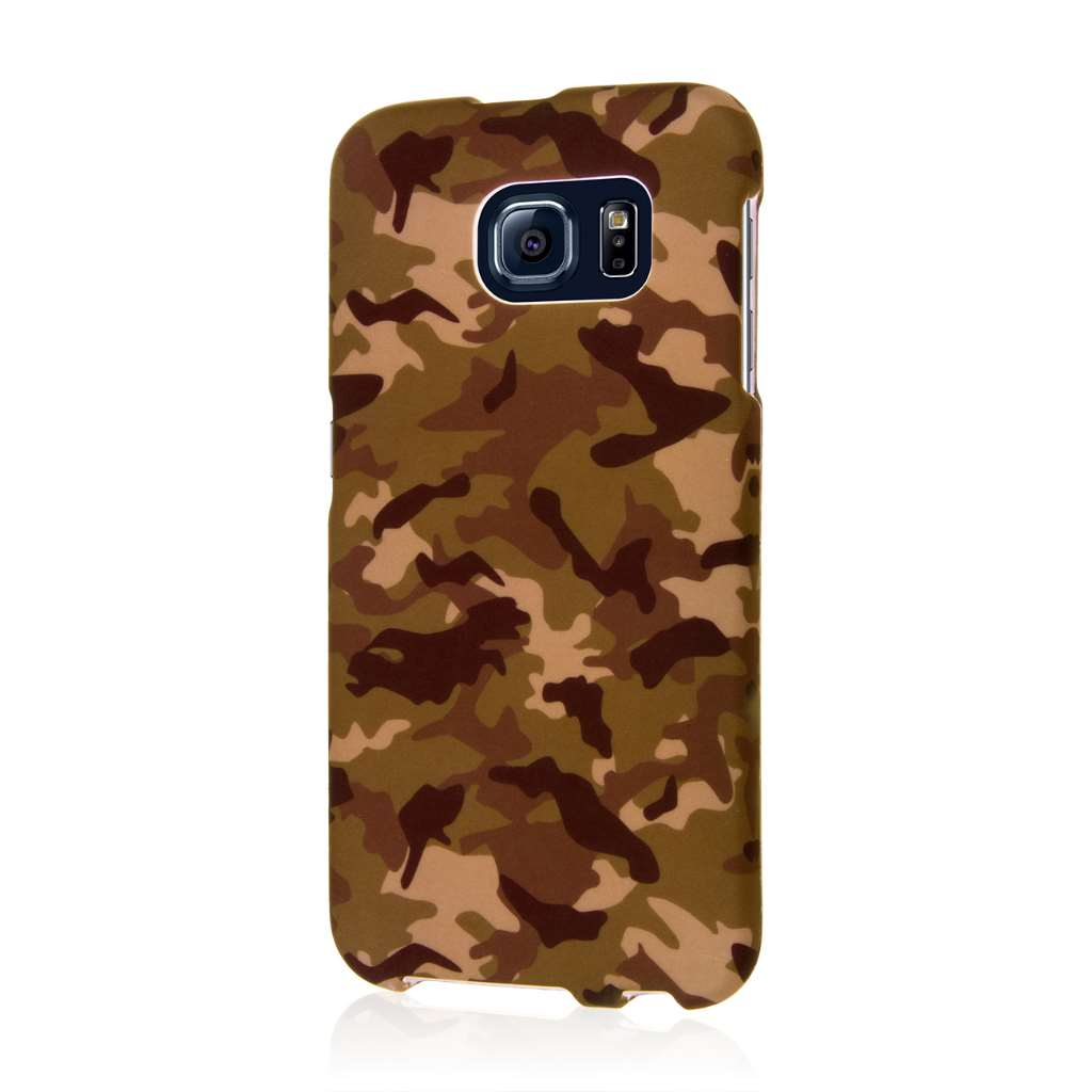 Samsung Galaxy S6 - Green Camo MPERO SNAPZ - Case Cover